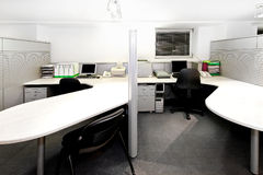 Office cubicles Royalty Free Stock Photo