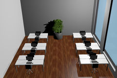 Office. 3d-rendering of an Office Royalty Free Stock Image
