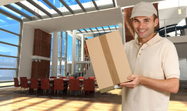 Office delivery Royalty Free Stock Photo
