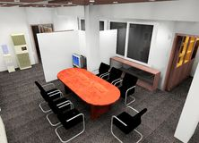 Office design Royalty Free Stock Photo