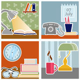 Office design vector Royalty Free Stock Photos