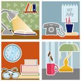 Office design vector Royalty Free Stock Photos