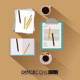 Office design,vector illustration. Royalty Free Stock Images