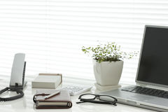 Office desk Stock Images
