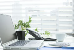 Office desk. It is a desk of the working person Royalty Free Stock Photography