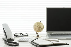 Office desk. It is a desk of the working person Royalty Free Stock Photos