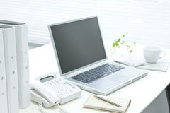 Office desk. It is a desk of the working person Royalty Free Stock Images