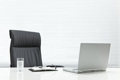 Office desk. It is a desk of the working person Stock Images