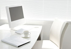 Office desk. It is a desk of the working person Stock Photography