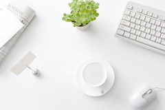 Office desk Royalty Free Stock Images
