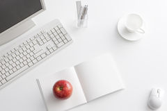 Office desk. It is a desk of the working person Royalty Free Stock Photo
