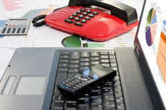 Office desk. Royalty Free Stock Photography