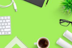 Office desk composition. Corporate, company, concept royalty free stock images