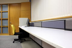 Office desk and computer Stock Images