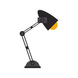 Office desk lamp light icon Royalty Free Stock Image