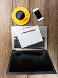 Office desk Stock Photography