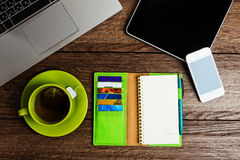 Office desk Royalty Free Stock Photography