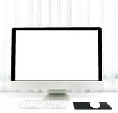 Office desk with the PC Royalty Free Stock Image
