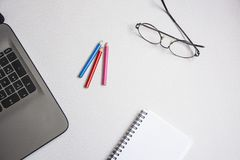 Office desk table Royalty Free Stock Photo