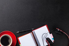Office desk table Royalty Free Stock Image