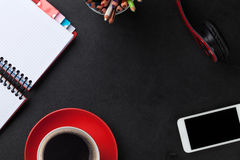 Office desk table Royalty Free Stock Photos