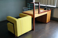 Office Desk of Walter Gropius Stock Photo