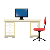 Office desk work place Royalty Free Stock Photo
