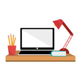 Office desk work place Royalty Free Stock Photography