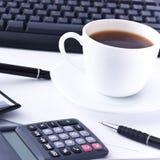 Office desktop Royalty Free Stock Image