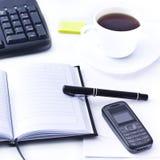 Office desktop Royalty Free Stock Photo