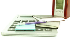 Office desktop accessories Stock Images