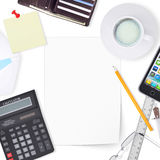 Office desktop Royalty Free Stock Images