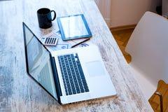 Office Desktop Stock Photography