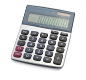 Office digital calculator Royalty Free Stock Image