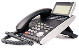 Office digital multi-button telephone Royalty Free Stock Photo