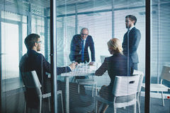 Office discussion Royalty Free Stock Image