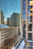 Office District in Back Bay Boston Royalty Free Stock Photo