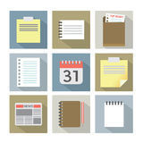 Office Document Icons Royalty Free Stock Image