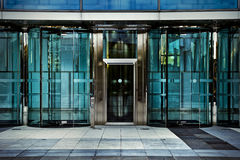 Office door, business building in madrid, spain Stock Photo