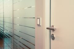 Free Office Door To Conference Room Royalty Free Stock Photography - 129924177