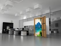 Office dream Royalty Free Stock Photos