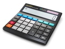 Office electronic calculator Stock Photos
