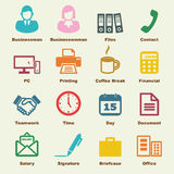 Office elements Royalty Free Stock Photography