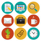 Office elements 2 Royalty Free Stock Photography