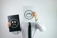 Office emotion Royalty Free Stock Photos