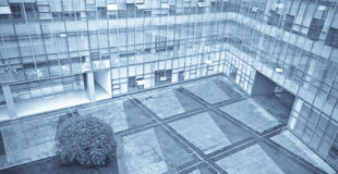 Office entrance. Quiet modern office entrance in the day time Royalty Free Stock Photo