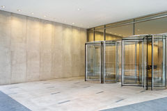 Office Entrance. Modern office entrance to reception area Royalty Free Stock Photos