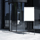 Office entrance with whiteboard Stock Photos