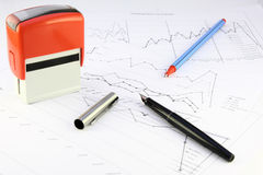 Office equipment Royalty Free Stock Images
