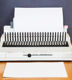 Office equipment bookbinding Royalty Free Stock Image